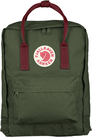 Fjallraven Kanken Forest Green Ox Red F23510-660-326