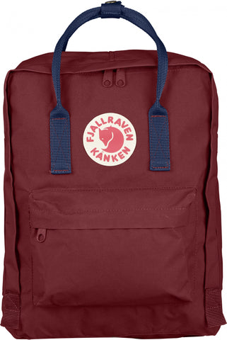 Fjallraven Kanken Ox Red Royal Blue F23510-326-540
