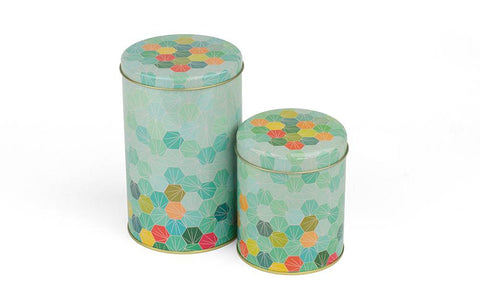 Froy & Dind cylindrical box Hexagon Medium Of Large box12057 BOX05057