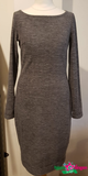 IEZ! Dress Melee Grey W19 WDR 214s/125