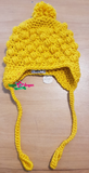 IEZ! Hat Bol Knitted Yellow W19 HHB 523s/800