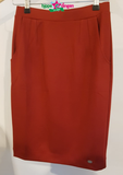 IEZ! SKirt Stretch Dark Red W19 WSK 618s/550