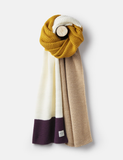 Joules Annis Chuncky Knitted Scarf Plum Z_ANNIS PLUM