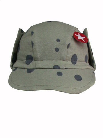 Kik Kid Hat Cap Big Spot Print Jersey Green S14 HCA 14i