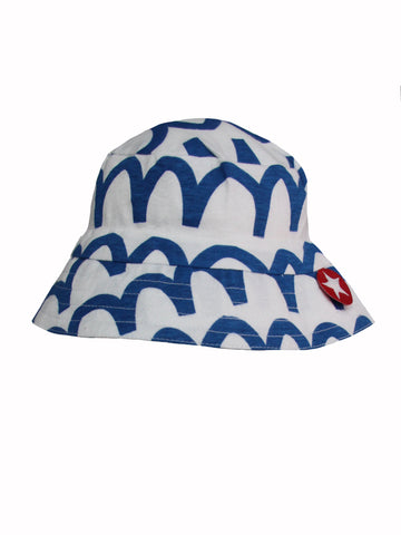 Kik Kid Hat Tiba Rand Waves White/Cobalt S18 HTR 59i/000