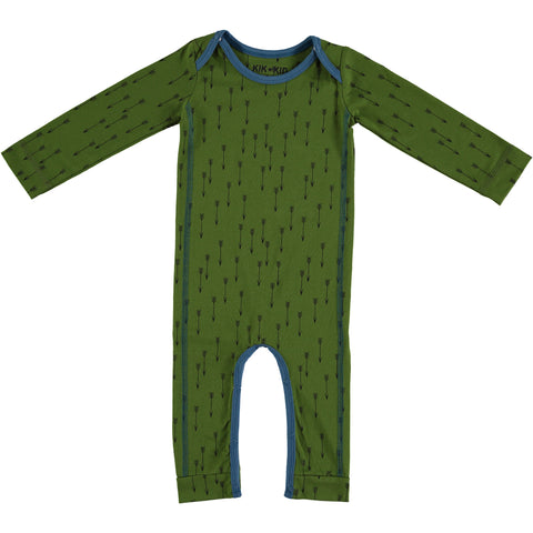 Kik Kid Romper Arrow Print Green/Blue W17 BRO 53i/400