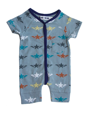 Kik Kid Romper Star Wings Light Blue S17 BRO 56i 325
