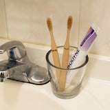 Kikkerland His And Her Bamboo Toothbrush Set TB11