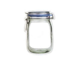 Kikkerland Zipper Mason Jar Bag Large CU145-L