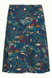 King Louie Border Skirt Manzai Autumn Blue 04317408