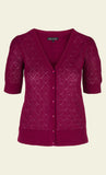 King Louie Cardi V Wiggle Beaujolais Red 02965605