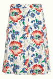 King Louie Fifi Button Skirt Verano Cream 03865-072