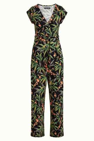 King Louie Lot Cropped Jumpsuit Tahiti Black 05023001