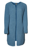 Loop A Life Cardigan Long Mid Summer French Blue