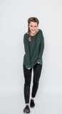 Loop A Life Sweater Form & Figure Dark Green W1006300