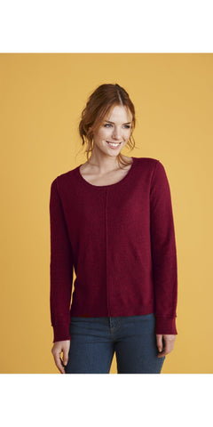 Mistral Button Back Jumper Rumba Red 62552