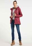 Ragwear Jacket Marge red 2021-60040-4000: water en winddichte jas van polyester