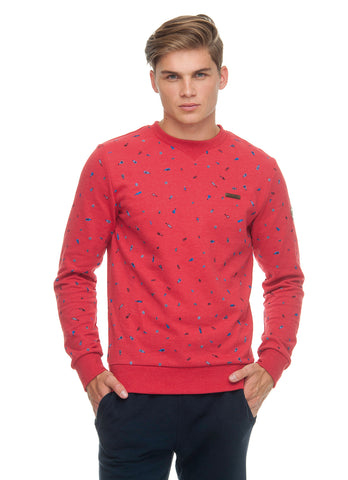 Ragwear Men Sweatshirt Ramon Red 1912300074000
