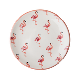 Rice Ceramic Lunch Plate With Flamingo Print CELPL-FLAM