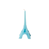 Rice Eiffel Tower Candle In Assorted Colors CDEIF-XC