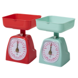 Rice Kitchen Scale In Pastel Green Or Red KISCA-XC