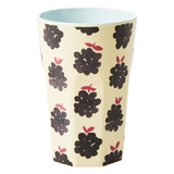 Rice Melamine Cup With Blackberry Print Large MELCU-LBLAB