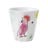 Rice Melamine Cup With Cockatoo Print MELCU-COCKA