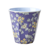 Rice Melamine Cup With Hanging Flower Print MELCU-HAFL