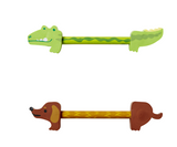 Rice Pencil with Double Eraser Crocodile or dachshund PAPEN-ANIDOG/PAPEN-ANICRO