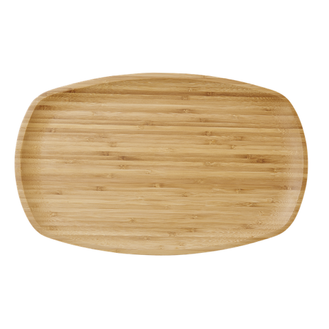 Rice Rectangular Serving Dish in Bamboo BAMDI-RECN