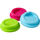Rice Silicone Lid For Our melamine Tall Cups in 3 Assorted Colors MELCU-LIDXC