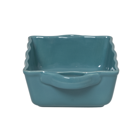 Rice Small Stoneware Oven Dish in Turquoise CEOVE-ST
