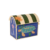 Rice Small Toy Basket With Sea Animals Design BSHOU-SSEA