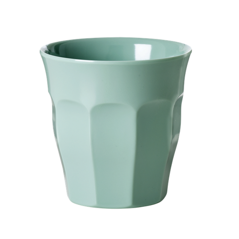 Rice Solid Colored Medium Melamine Cup In Khaki MELCU-KHA