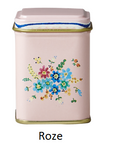 Rice Tin Spice Jar with Beautiful Print