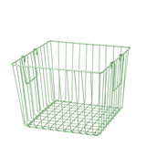 Rice Square Wire Basket With Handle