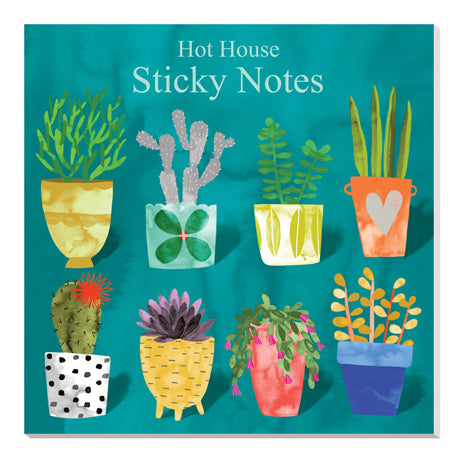 Roger La Borde Sticky Notes Cactus