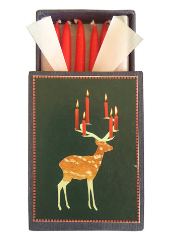 Salon Elfi Candle Box Deer 714