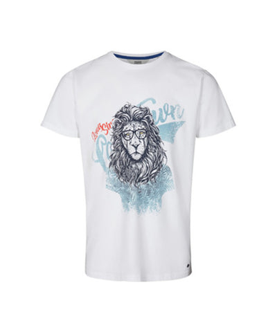 Solid Men T-Shirt Bromley 1 White 6194208-0001
