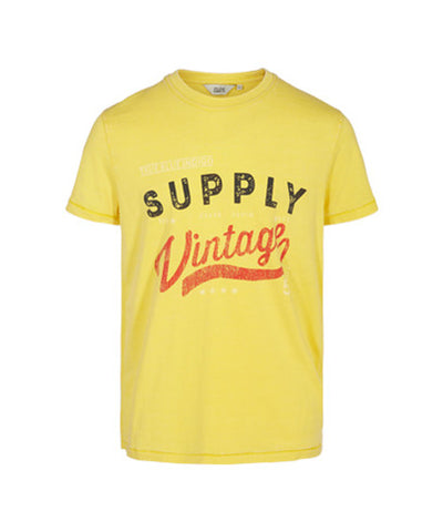 Solid T-Shirt Bim Yellow 6194255-6407