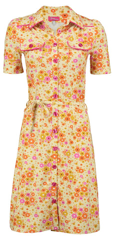 Tante Betsy Betsy Dress Fleurie Yellow