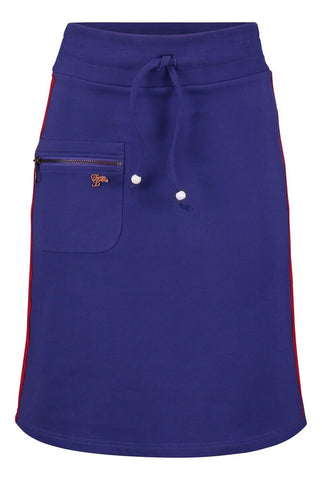 Tante Betsy Skirt Zipper Purple