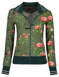 Tante Betsy Sporty Jacket Vintage Garden Army