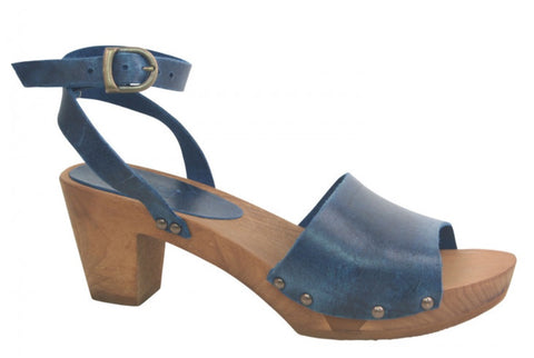 Sanita Wood Yoleen Flex Sandal Navy 459357-29