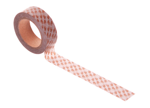 Wowgoods Washi Tape Hands Up Brown 400023