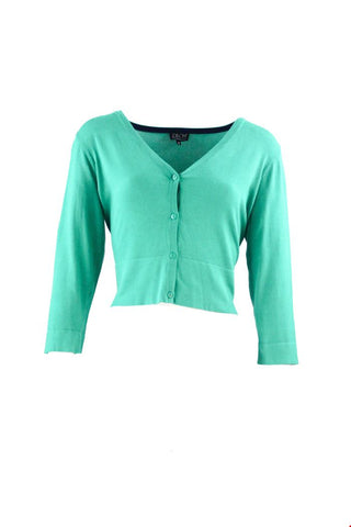 Zilch Cardigan Short Emerald 91BAS20.003-291