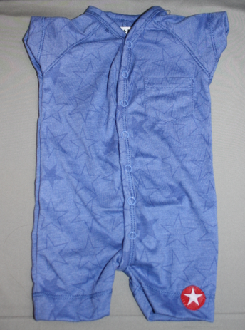 Kik Kid Suit Short Jersey Melee Blue