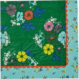 Rice 20 Paper Napkins with Flower Print