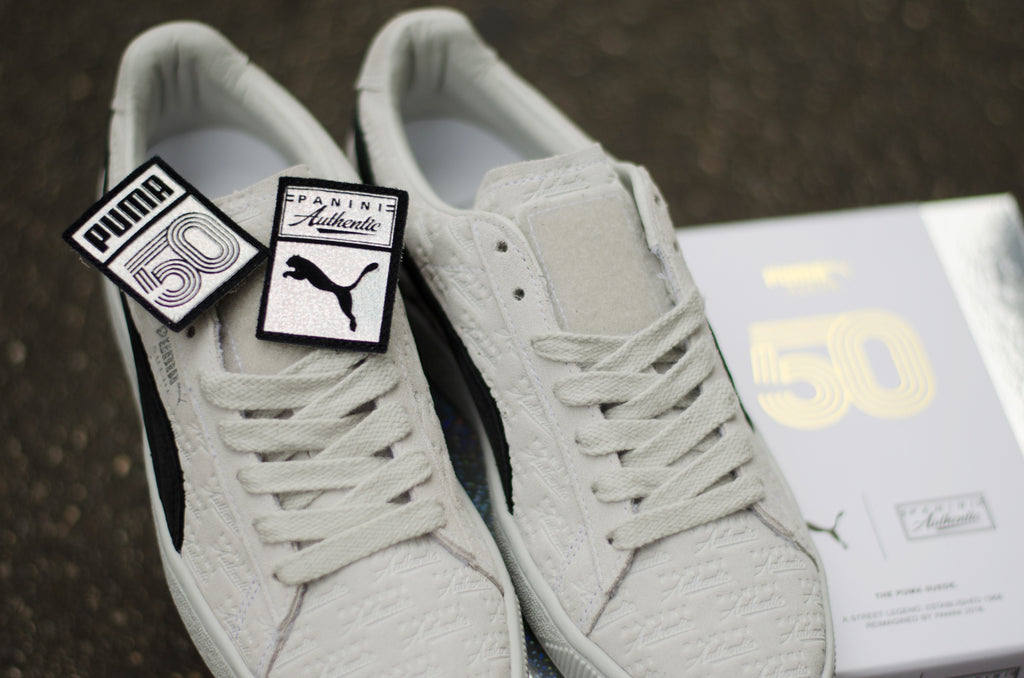 Puma Suede 50th anniversary x Panini ( Grey / Black ) 366323-01