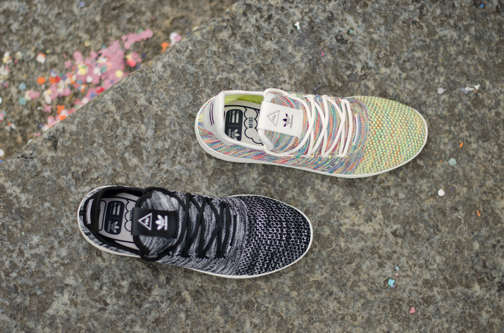 Adidas Pharell Williams Tennis Hu Primeknit Multicolor & Oreo